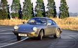 Porsche 911 - tracking front
