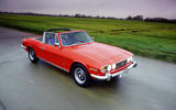Triumph Stag - tracking side