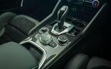 Alfa Romeo Giulia Quadrifoglio 2020 UK first drive review - centre console
