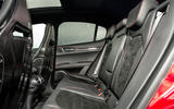 Alfa Romeo Stelvio Quadrifoglio 2018 UK RHD first drive - rear seats