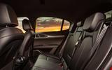 Alfa Romeo Stelvio Sprint 2020 UK first drive review - rear seats