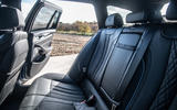 Alpina B5 Touring 2018 UK first drive review - rear seats