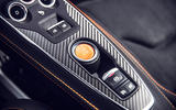 Alpine A110S 2019 first drive review - start button