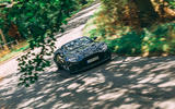 Aston Martin DBS Superleggera Volante 2019 UK first drive review - on the road front