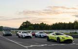 Aston Martins at Goodwood