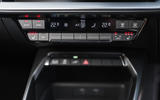 Audi A3 TFSIe 2020 UK first drive review - climate controls