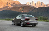 Audi A4 2019 first drive review - static rear