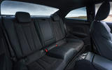 Audi A5 Coupe 2020 UK first drive review - rear seats