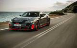 Audi RS E-tron GT 2021 prototype drive - on the road front