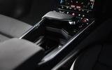 15 Audi E tron S Sportback 2021 UK first drive review centre console