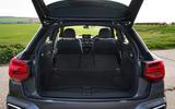Audi Q2 35 TFSI Sport 2020 UK first drive review - boot