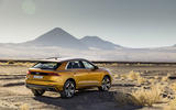 Audi Q8 2018 first drive review static rear