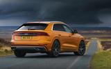 15 Audi Q8 TFSI e 2021 uk FD static rear