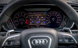 Audi RS Q3 Sportback 2019 UK first drive review - instruments