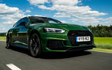 Audi RS5 Sportback 2019 first drive review - on the road front