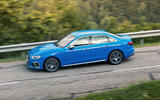 Audi S4 2019 first drive review - on the road side