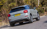 Audi SQ2 2019 UK first drive review - on the road rear
