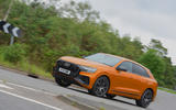 15 Audi SQ8 2021 UK FD on road front