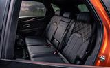 Bentley Bentayga 2020 UK first drive review - rear seats
