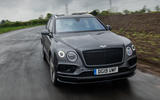 Bentley Bentayga Speed 2019 UK first drive review - on the road nose
