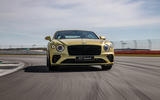 15 Bentley Continental GT Speed 2021 UK FD on road nose