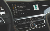 Bentley Flying Spur 2020 UK first drive review - infotainment