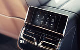 15 Bentley Fyling Spur V8 2021 UK review frear infotainment