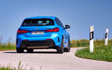 BMW 1 Series M135i 2019 first drive review - cornering rear