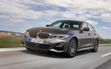 BMW 3 Series 330e 2019 first drive review - on the road front