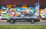 BMW 3 Series 330i 2019 UK review - side