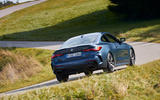 BMW 4 Series 2020 first drive review - cornering rear