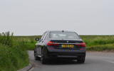 BMW 7 Series 740Ld long-term review cornering rear