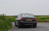 BMW 7 Series 740Ld long-term review cornering rear