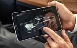 BMW 7 Series 750Li 2019 first drive review - rear tablet