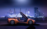 BMW i8 Roadster 2018 UK first drive review - static side
