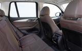 BMW iX3 2020 first drive review - rear seats