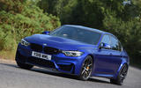 BMW M3 CS 2018 UK first drive review hero action