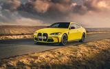 15 BMW M4 2021 UK first drive review static