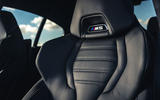 BMW M5 Competition 2020 UK first drive review - seat details