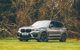 BMW X3 M Competition 2019 UK first drive review - static front