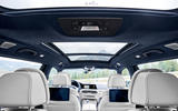 BMW X7 2019 first drive review - sunroof