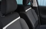 Citroen C3 Aircross Flair Puretech 130 long-term review - front seats