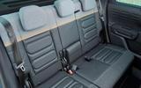 15 Citroen C3 Aircross 2021 UK FD rear seats