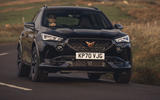 15 Cupra Formentor VZ2 2021 UK first drive on road front