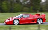 Ferrari F50 - side