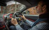 Ferrari Roma 2021 UK first drive review - Andrew Frankel driving