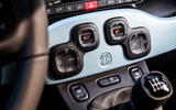 Fiat Panda Cross Hybrid 2020 first drive review - climate controls