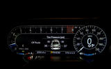 Ford Shelby Mustang GT500 2020 first drive review - instruments