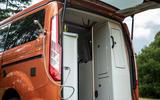 15 Ford Transit Nugget 2021 UK FD shower