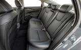 Honda Insight 2019 first drive review - rear seats